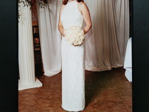 Wedding Dress - Size 8 - from David's Bridal for Sale in Northbrook, IL