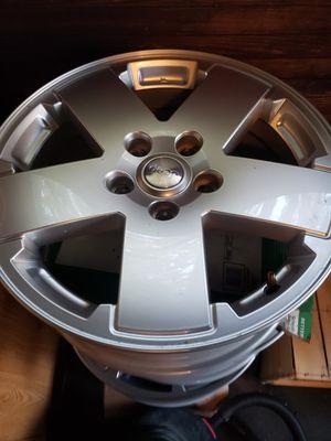 """5 jeep wrangler Sahara wheels 18"""" for Sale in Providence, RI"""