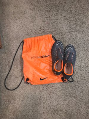 original Nike Hypervenom phantom soccer cleats for Sale in Pumpkin Center, CA