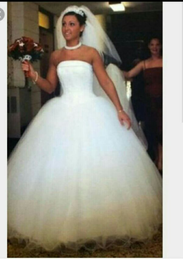 Michael Angelo wedding gown size 7