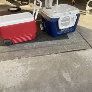 Sold Out Coolest Cooler And Igloo Cooler Yeti Blender Make Me A Offer for Sale in Moreno Valley, CA
