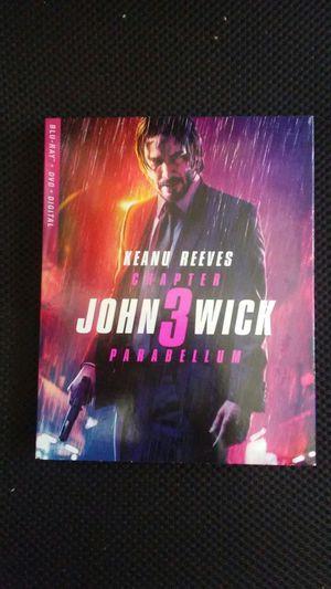John wick 3 blueray for Sale in Los Angeles, CA