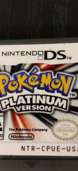 Pokemon Platinum With Shiny Vespiquen for Sale in Fresno,  CA
