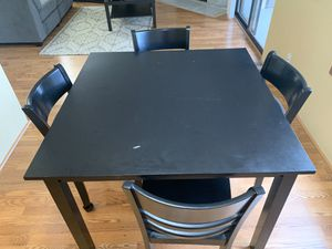 Black dining table for Sale in Kirkland, WA
