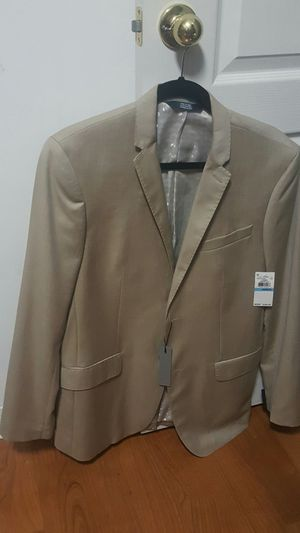 Perry Ellis, sport suit beige slim fit for Sale in Orlando, FL