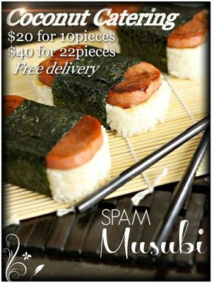 Hawaiian Style Spam Musubi for Sale in Anchorage, AK