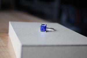 Emerald Cut Sapphire Ring for Sale in Anchorage, AK