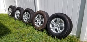 5 Michelin tires with rims for Sale in Ocoee, FL