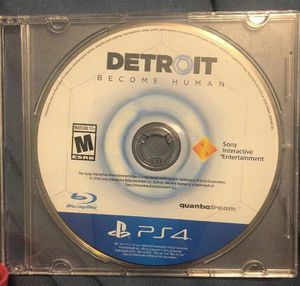 DETROIT BECOME HUMAN PS4 for Sale in Detroit, MI