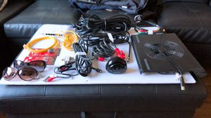 cables for modem, hdmi cable, router withe cables,adapters for cables TV or DVD, Bic lock, cooling pad for laptop,alarm clock and staff kitchen for Sale in Nashville, TN