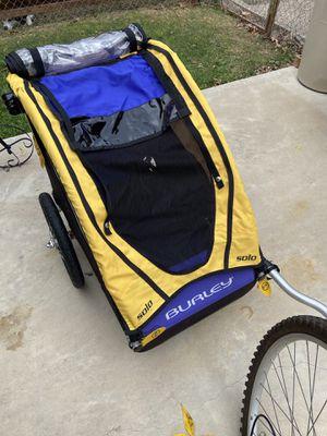 Burley solo bike trailer for Sale in Grand Prairie, TX