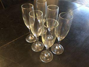Champagne glasses for Sale in Bradenton, FL