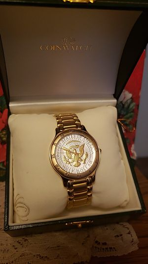 Presidental Seal Mens Watch for Sale in Tacoma, WA