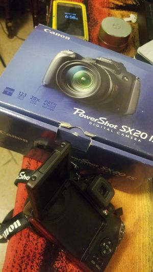 Canon POWERSHOT SX20 IS CAMERA for Sale in Pittsburgh, PA