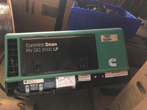 Cummins Onan RV QG 2500 LP Generator for Sale in Turlock, CA