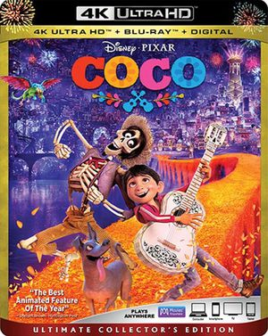 Coco 4K UHD Digital Movie Code for Sale in Fort Worth, TX