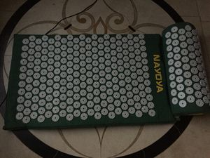 Acupressure mat and pillow for Sale in Fulton, MD