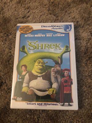 Shrek dvd for Sale in Tacoma, WA
