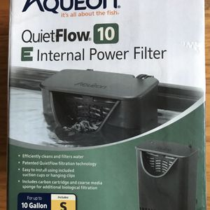 Aqueon QuietFlow Aquarium Filter Small for Sale in Villa Park, IL