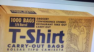 WHOLESALE PLASTIC BAGS for Sale in Los Angeles, CA