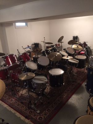 BASEMENT FULL OF DRUMS for Sale in Norwalk, CT