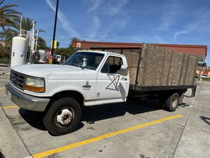 1995 Ford F450 superduty flatbed gas for Sale in Oceanside, CA
