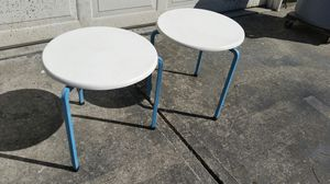 Pair of Smaller Mid-century Tables for Sale in Hamilton, OH