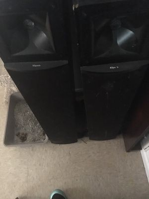 Klipsch large speakers for Sale in Washington, DC