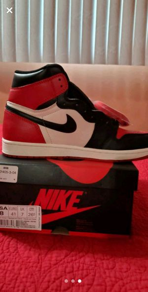 Jordan 1 bred toe for Sale in Addison, IL