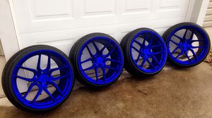 20 inch staggered concave Limited Stance wheels for Sale in Millersville, MD