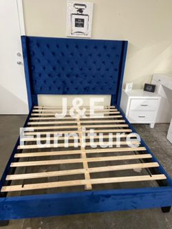 Queen Size Bed Frame (Mattress Included) for Sale in Los Angeles,  CA