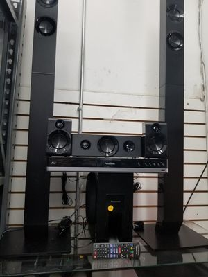 QUALITY BLUETOOTH SURROUND SOUND BLURAY 3D HOME THEATER SYSTEM WITH SUBWOOFER BY PANASONIC. 1000 watts . BRAND NEW SEALED BOX for Sale in Los Angeles, CA