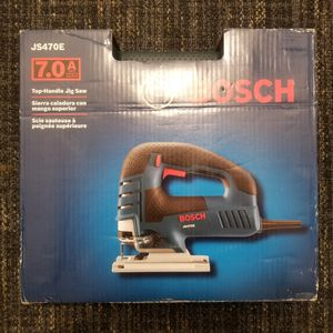 New Bosch 7 Amp Corded Variable Speed Top-Handle Jig Saw Kit with Carrying Case for Sale in Renton, WA