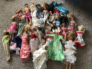 Old Barbies and clothes for Sale in Everett, WA