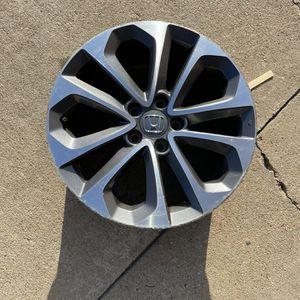 One 18 Inch Aluminum Alloy Wheel Rims Fits 2012-2015 Honda Pilot 5 Lug for Sale in Houston, TX