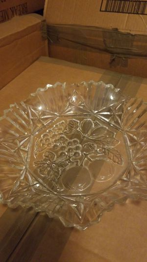 Beautiful antique glass bowl for Sale in Stafford, VA