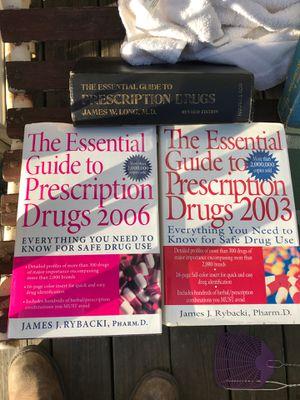 Old prescription drug books for Sale in Lombard, IL
