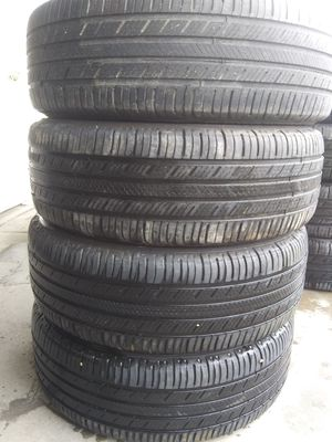A set of Tires size 195 65 15 mark MICHELIN for Sale in Adelphi, MD