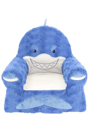 Sweet Seats Sturdy Soft Cozy and Adorable Plush Shark Chair for Sale in Moreno Valley, CA