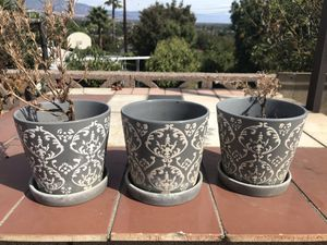 Decorative Flower Pots for Sale in Pomona, CA