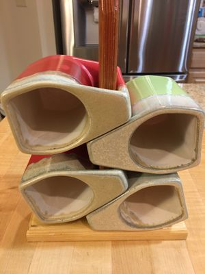 Panera Bread Mugs and counter stand for Sale in Suffolk, VA
