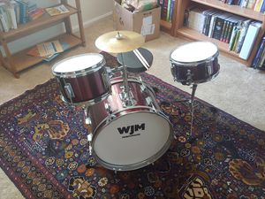 WJM Percussion Junior 3-piece drum set for Sale in Fort Meade, MD