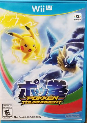 Pokken Tournament Nintendo Wii U for Sale in Fresno, CA
