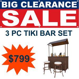 3 PC Tiki Bar for Sale in Miami Lakes, FL