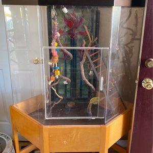 Acrylic Bird Cage for Sale in West Sacramento, CA