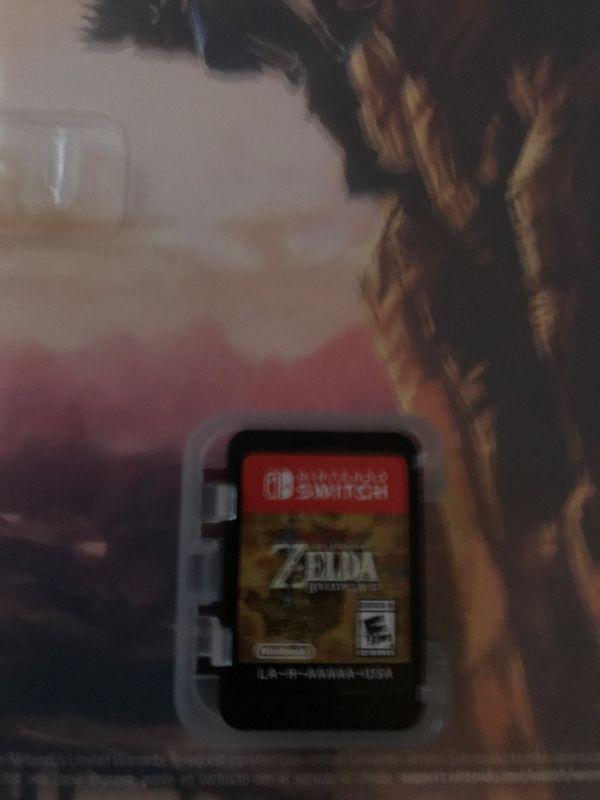 Nintendo Switch Zelda Breath Of The Wild