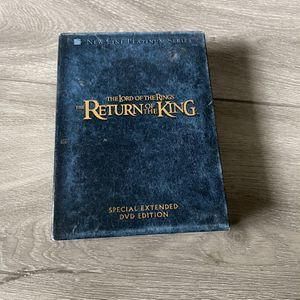Lord Of The Rings - Return Of The Long Extended Edition DVD for Sale in Los Angeles, CA
