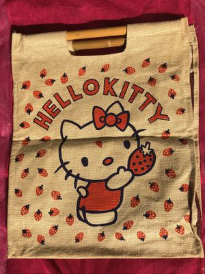 Hello Kitty Bamboo handle bag $15 for Sale in Redlands, CA