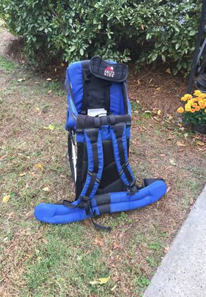 Child carrier for hiking plus backpack new condition for Sale in Asheboro, NC