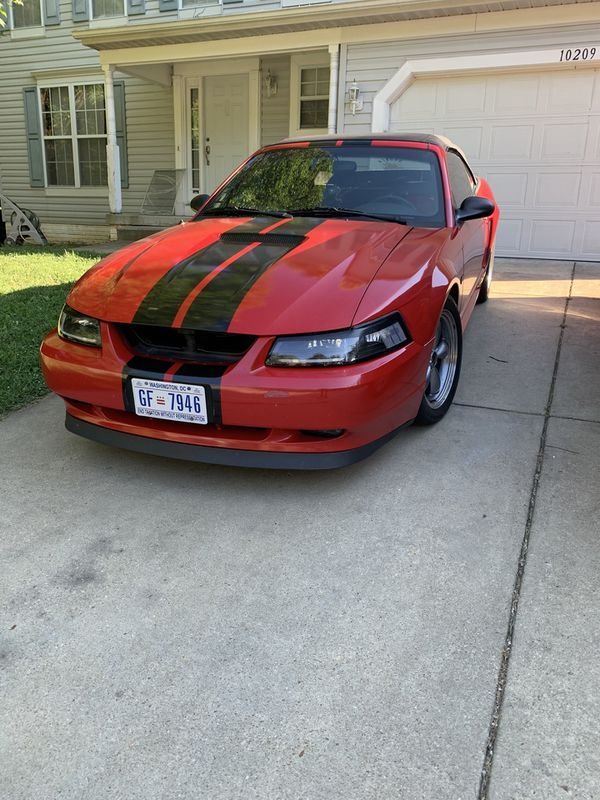 2000 Ford Mustang gt 5 speed manual